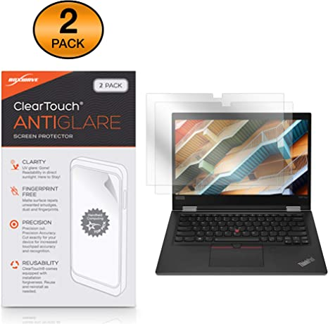 "Lenovo Yoga 730 Set of 2 13.3/"" Touch Screen Protector High Clarity//Anti Glare"