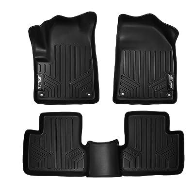 MAXLINER Floor Mats 2 Row Liner Set Black for 2014-2020 Jeep Cherokee: Automotive