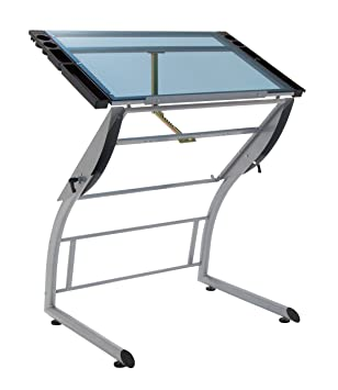 Studio Design Drafting Table studio designs futura advanced drafting table stage Studio Designs 10089 Triflex Drawing Table Sit To Stand Up Adjustable Desk Silver