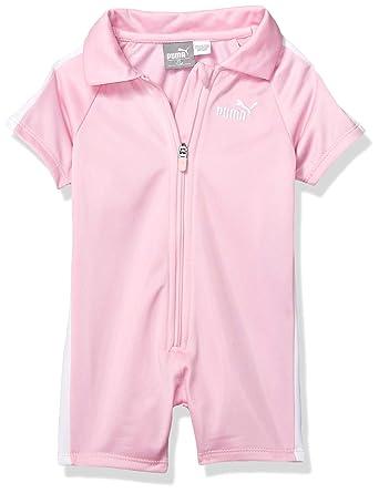 ab6af183e1bba Amazon.com: PUMA Baby Girls' Romper: Clothing