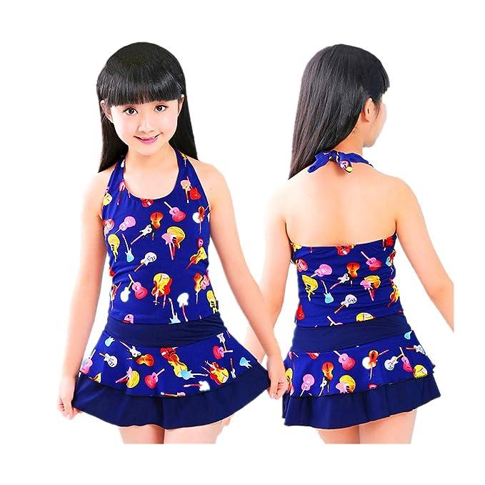da9e9f6d0b Amazon.com  Jasooo Baby Girls Bikini Swimsuit Girl Swimwear One-Piece  M L XL XXL  Clothing