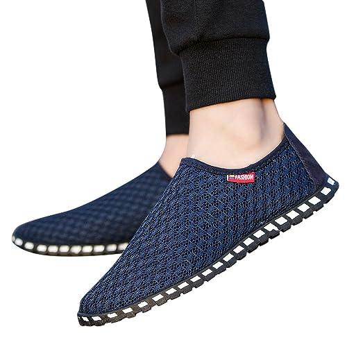 Familizo_Zapatillas Hombre Casual Zapatillas Hombre Verano Zapatillas Hombre Running Trabajo Zapatillas Hombre Transpirables Sneakers Deportes Zapatos ...
