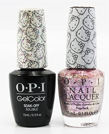 Lovely Glitter Shellac Nail Polish Tiny Clear Acrylic Nail Polish Solid Cute Toe Nail Art Designs Kiss Nail Art Designs Old Thermal Color Changing Nail Polish WhiteKilling Nail Fungus Amazon.com: OPI Hello Kitty 2016 Nail Lacquer And Gelcolor Charmy ..