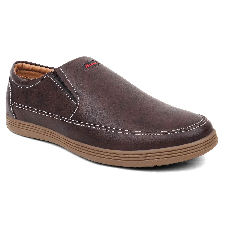 BATA Men Brown Casual Shoes at Amazon