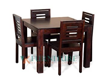 dc71c4a618a VK Furniture Sheesham Wood Dining Table 4 Seater