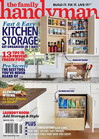 Family Handyman: Amazon com: Magazines