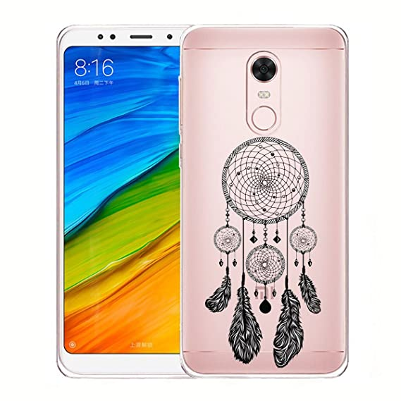Amazon.com: Case for Xiaomi Redmi 5 Plus, WenJie Beautiful ...