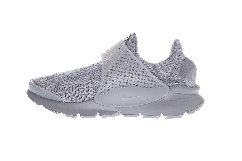 Nike Hombres de Calcetines - Running Shoe, 12 D(M) US, Blanco, Gris (Wolf Grey/Wolf Grey-White): Amazon.es: Deportes y aire libre