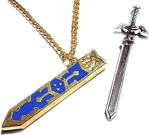 Collier avec pendentif The Legend of ZELDA 50 cm pour femme ou homme