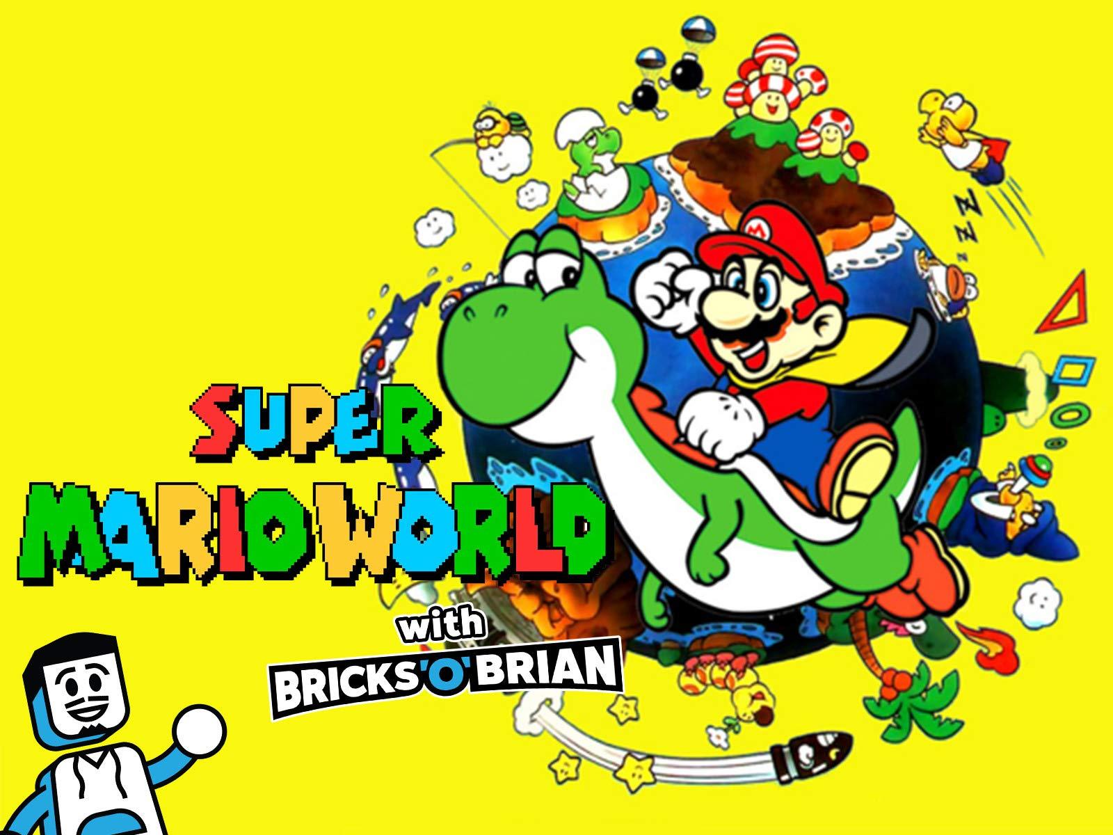 Clip: Super Mario World with Bricks 'O' Brian! - Season 1