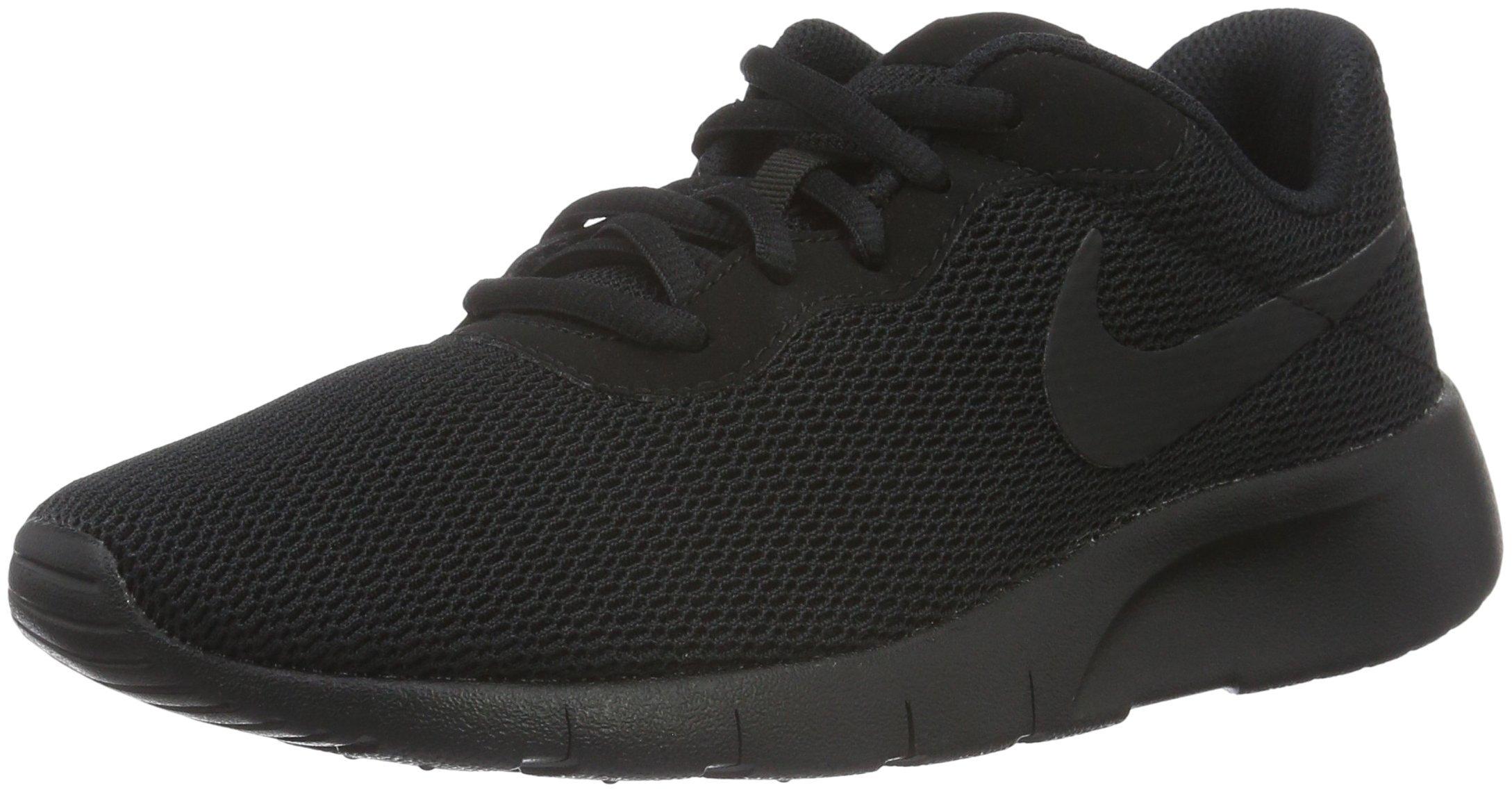 buy popular 71f79 e55ec Galleon - Nike 818381-001  Big Kid s Tanjun Running Black Sneaker (7 M US  Big Kid, Black Black)