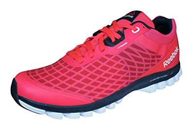cfc84b5625b95e Reebok Sublite Super Duo Mens Running Sneakers-Red-8