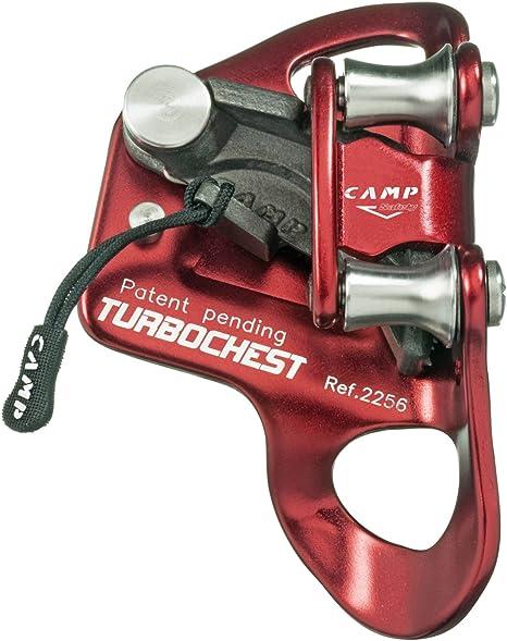 Camp Turbochest - Aseguradores escalada - gris/rojo 2017