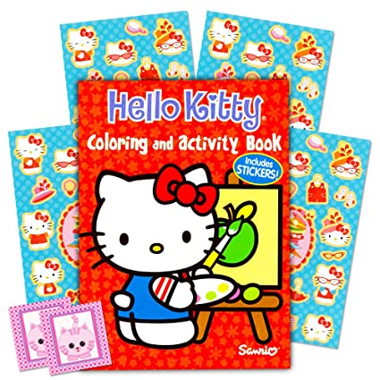 Image Unavailable. Image not available for. Color  Hello Kitty Coloring ... 3ff6699f2127e