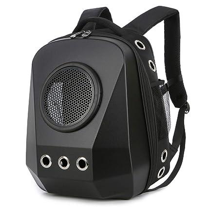 6a5dff8027f HBuir Innovative Diamond Traveler Pet Carrier Shoulder Backpack (Frosted  Black2)