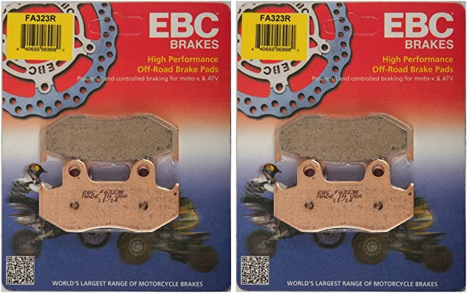 EBC R Series Long Life Sintered Brake Pads FA323R