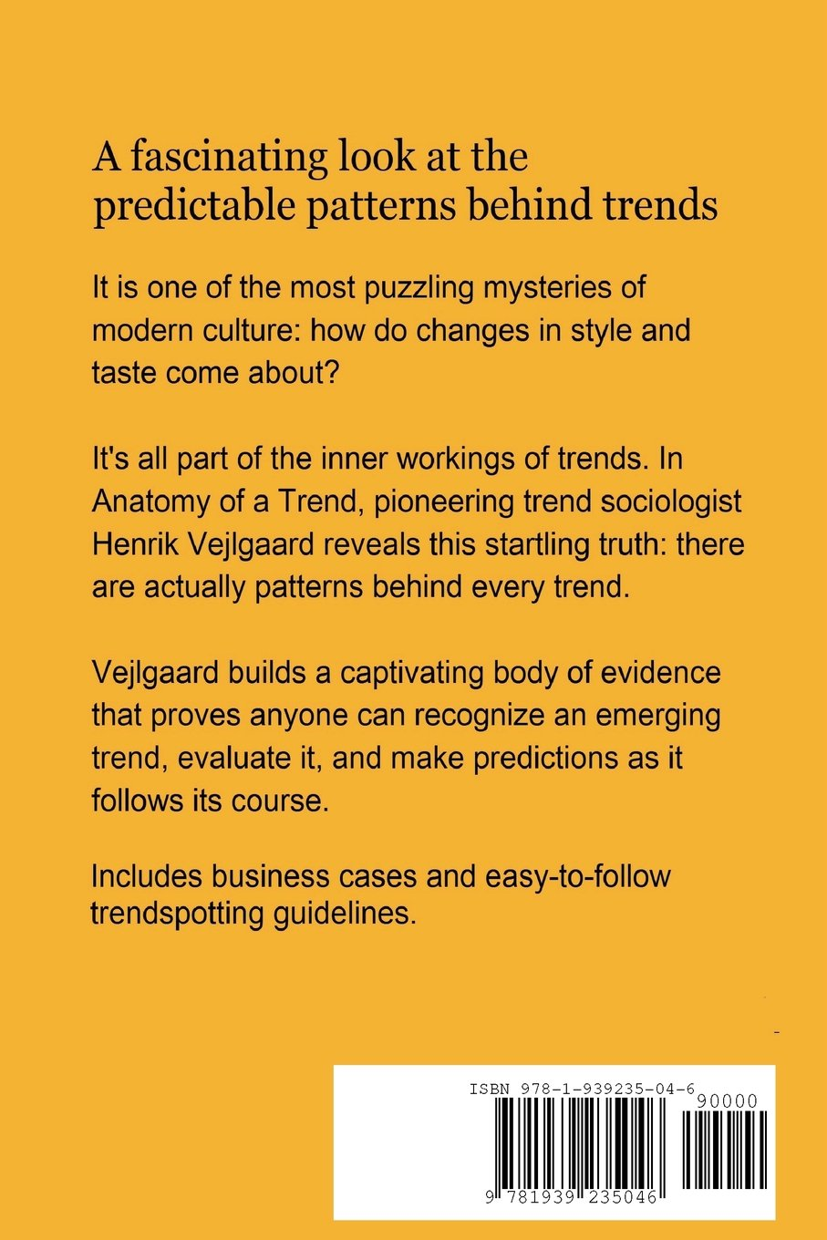 Anatomy of a Trend: Henrik Vejlgaard: 9781939235046: Amazon.com: Books