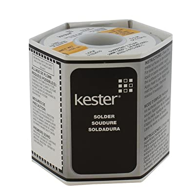 "Kester 24-6040-0053 Solder Roll, 66 Core Size, 0.050"" Diameter: Industrial & Scientific"