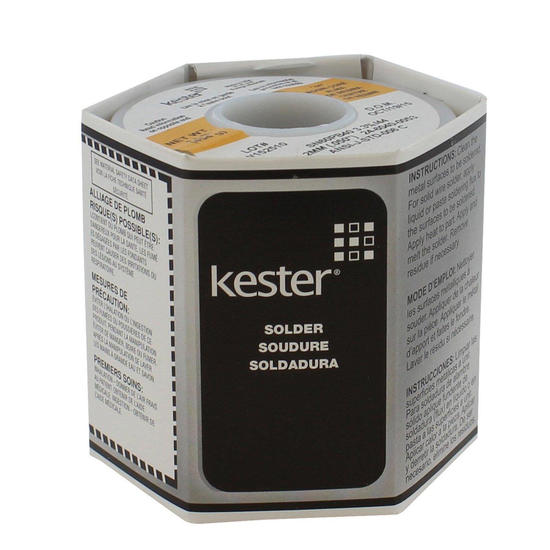 Kester 24-6040-0053 Solder Roll, 66 Core Size, 0.050'' Diameter