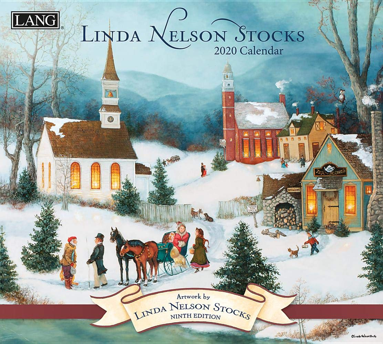 Linda Nelson Stocks  2020 Wall Calendar