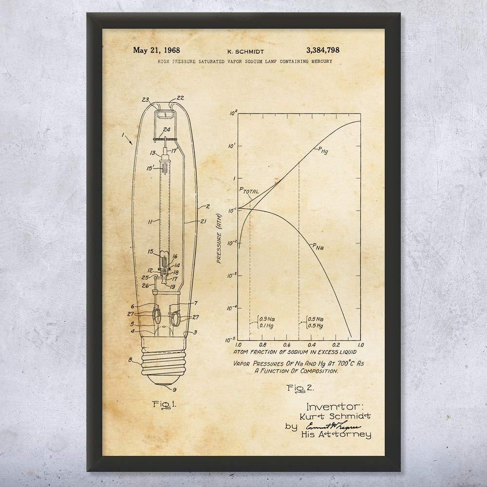 Engineering Schematic Lamp