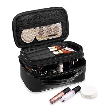 Amazon.com: HZOO Bolsa de maquillaje, pequeña bolsa de ...