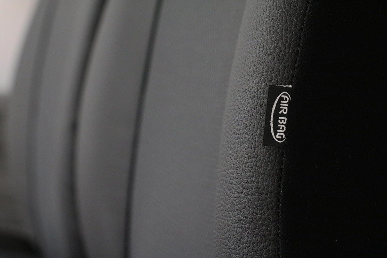 Beifahrersitz 2EX EJP Ma/ßgefertigte Vordersitzbez/üge f/ür T-ROC ab 2017 Design ROYAL Fahrersitz In diesem Angebot GRAU