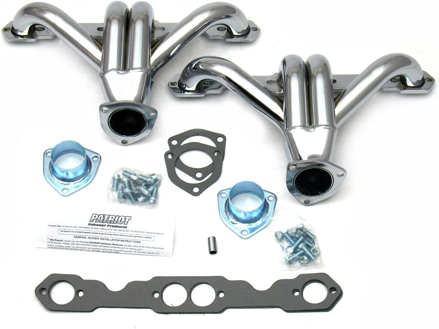 Patriot Exhaust H8028 1-5//8 Tight Tuck Exhaust Header for Small Block Chevy
