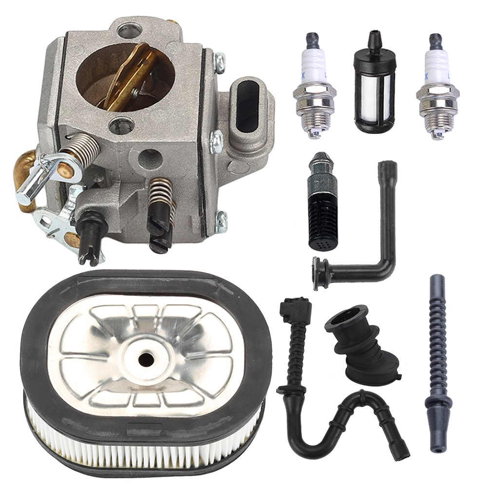 Harbot Carburetor with Air Filter Repower kit for 044 046 MS440 MS460 MS 440 460 Chainsaw Parts