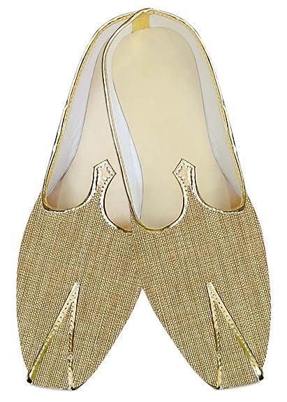 Mens Bisque Jute Wedding Shoes Ethnic MJ013919