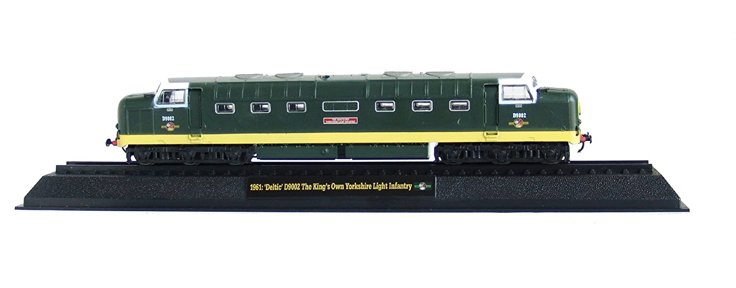 'Deltic' D9002 The King's Own Yorkshire Light Infantry - 1961 Diecast 1:76 Scale Locomotive Model (Amercom OO-7)