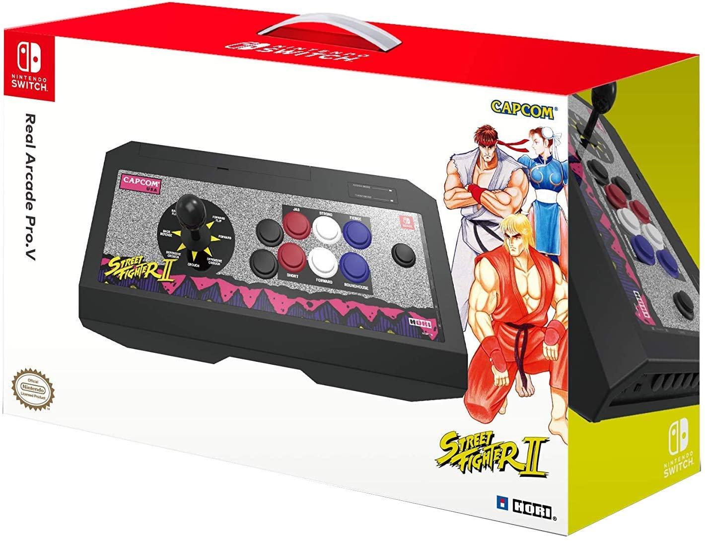 Hori - Real Arcade Pro.V Hayabusa, Edición Street Fighter II Retro (Nintendo Switch/PC): Amazon.es: Videojuegos