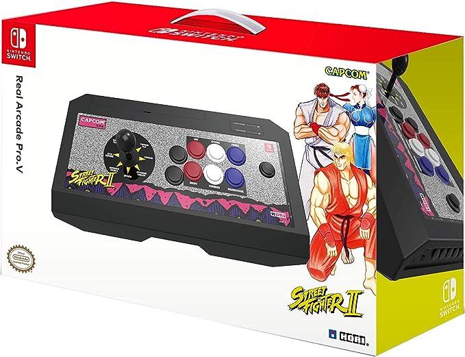 Hori - Real Arcade Pro.V Hayabusa, Edición Street Fighter II Retro (Nintendo Switch/PC): Amazon.es: Videojuegos