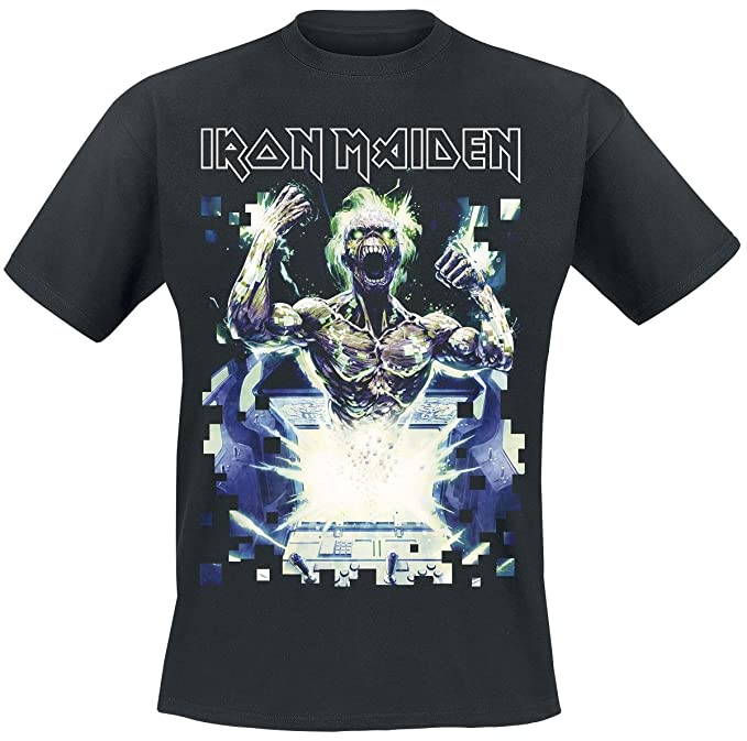 Iron Maiden Speed Of Light Camiseta Negro XXL
