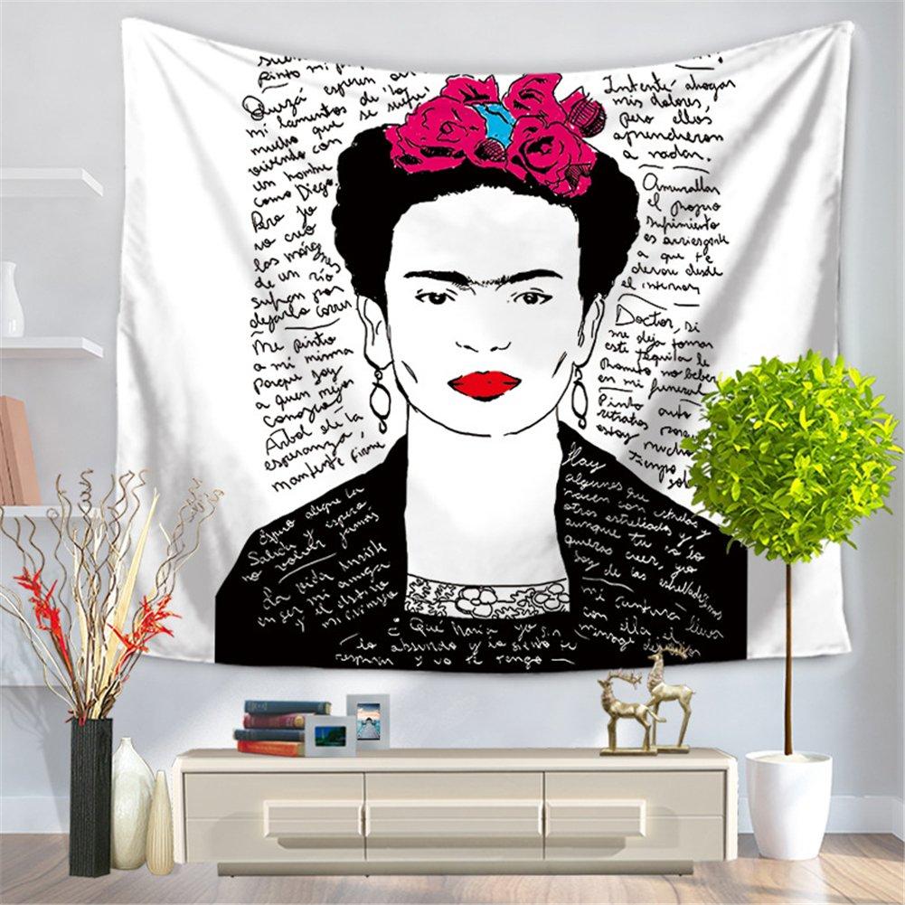 Tapiz de pared con diseño de Frida Kahlo