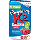 FORZA Raspberry K2 Weight Loss Capsules, 45-Count