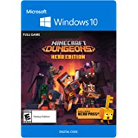 Minecraft Dungeons Hero Edition - PC [Online Game Code]