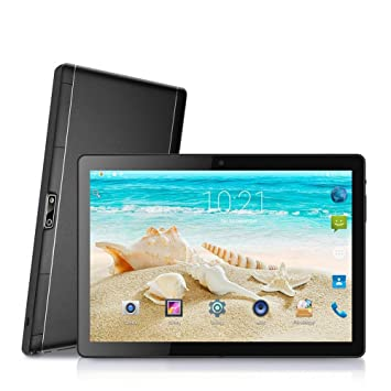 Noomai - Tablet de 10 pulgadas HD Phablet Android 7.0, doble ...