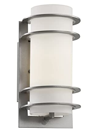 Trans Globe Lighting 40204 Sl Outdoor Zephyr 11 Quot Wall Lantern