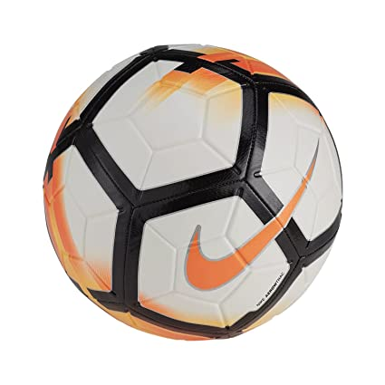 0455830dd3fd5 Amazon.com : Nike Strike Soccer Ball (White/Orange, 4) : Sports ...