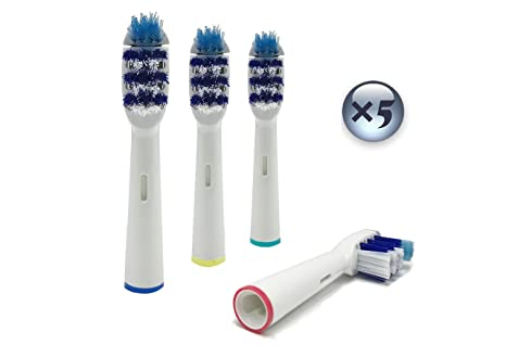 UCA® - Pack de 20 cabezales para cepillos de dientes recargables(Oral B TriZone