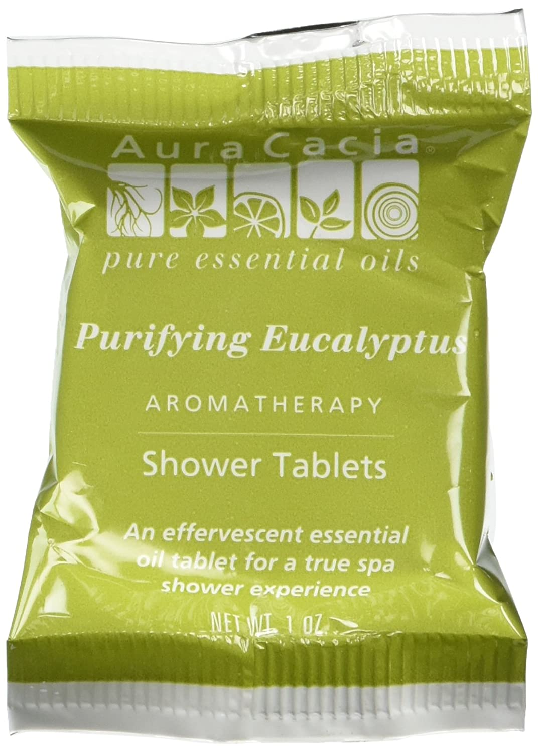 Aromatherapy Shower Tablets by Aura Cacia - 3 pack, Purifying Eucalyptus 51381882662