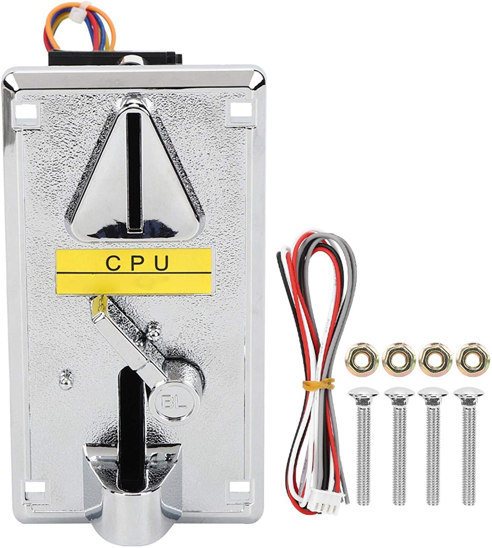 Hztyyier Aceptores comparativos de Monedas Individuales con CPU Selector de Monedas comparable Clasificador de Monedas con CPU electrónica para máquinas expendedoras con grúa de Garra(1)