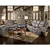 Cambridge Garrison Three Piece set: Sofa, Loveseat, Recliner Living Room Furniture Sets