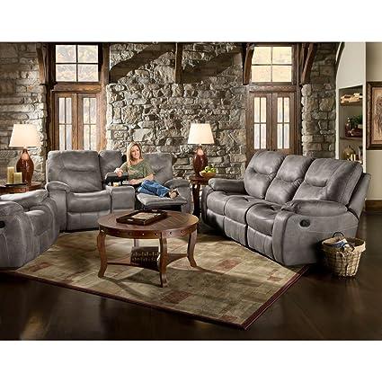 Amazon.com: Cambridge Garrison Three Piece set: Sofa, Loveseat ...