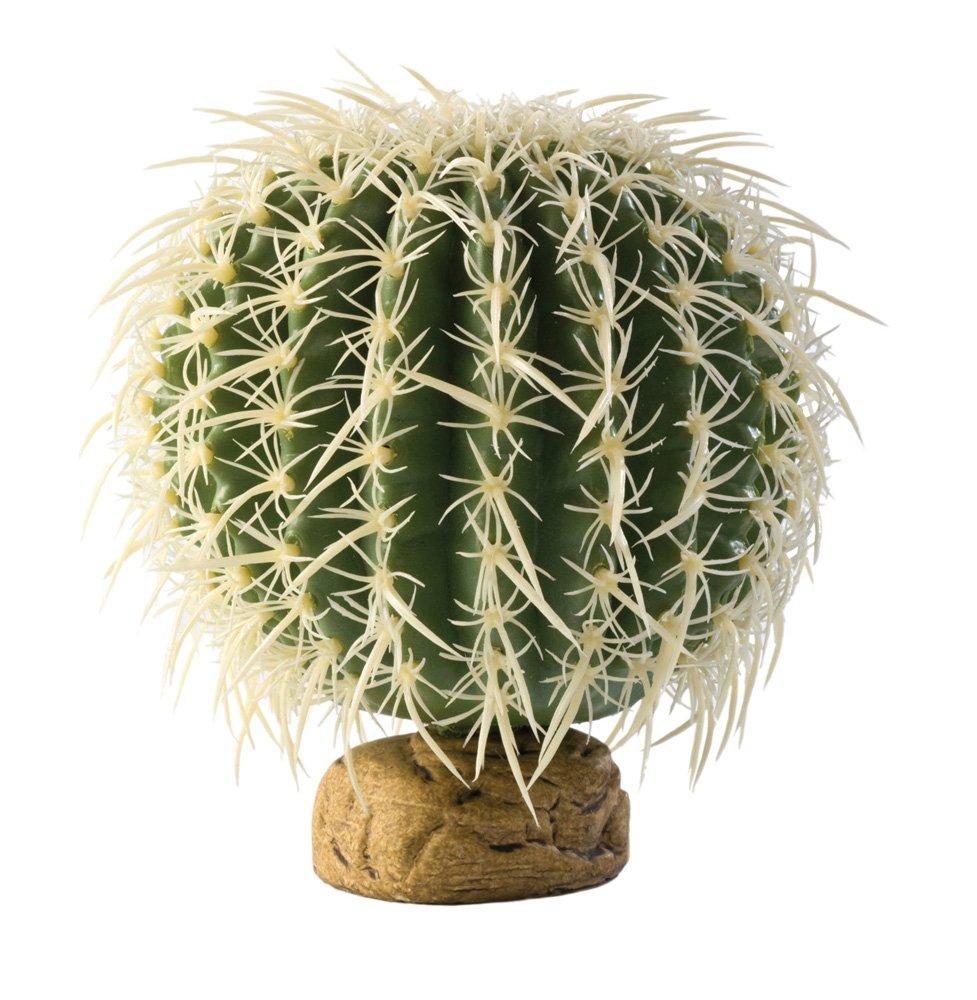 Exo Terra Barrel Cactus Terrarium Plant, Medium