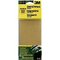 Folhas de lixa de uso geral 3M 9019, 8,5 cm x 22,5 cm, várias granulações