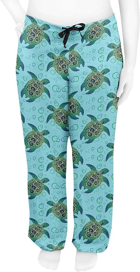 CafePress Sea Turtle Pajamas Womens PJs