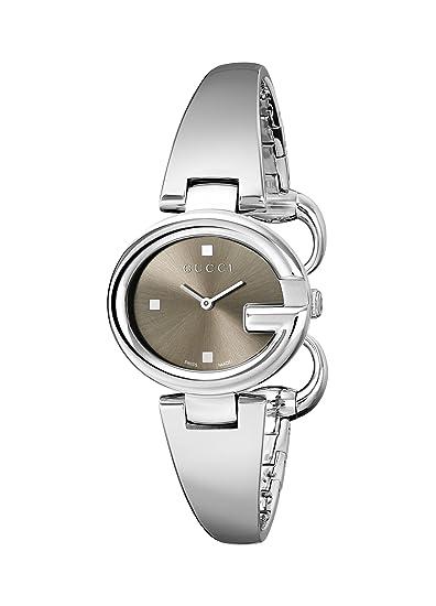 Gucci YA134503 - Reloj de cuarzo para mujer, con correa de acero inoxidable, color