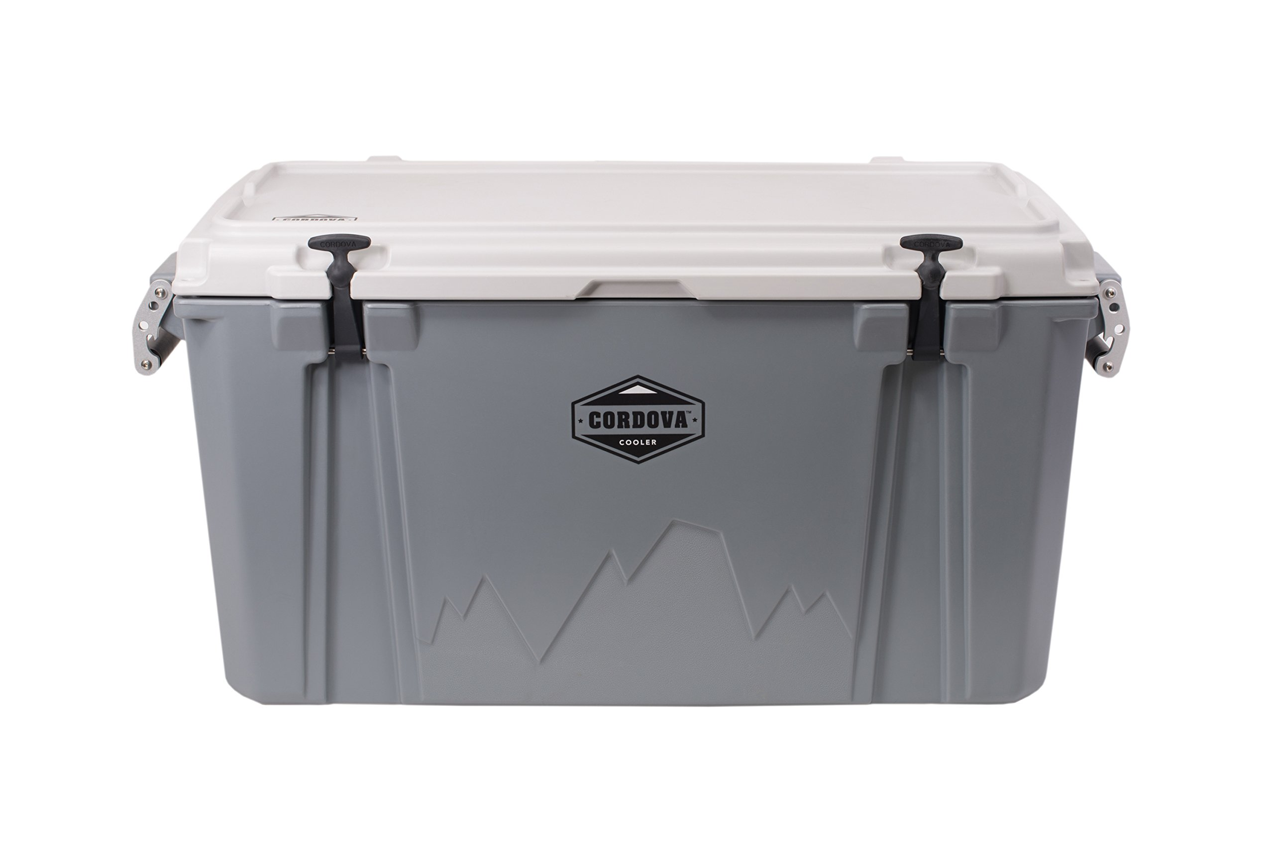 Cordova Coolers 100 Large Cooler - Gray by Cordova Coolers